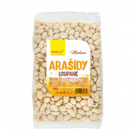 Wolfberry Arašídy loupané Medium 500 g