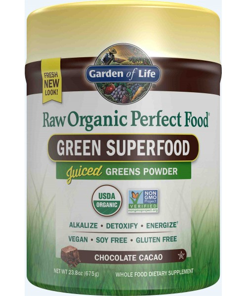 Garden of Life RAW Perfect Food čokoláda 675 g