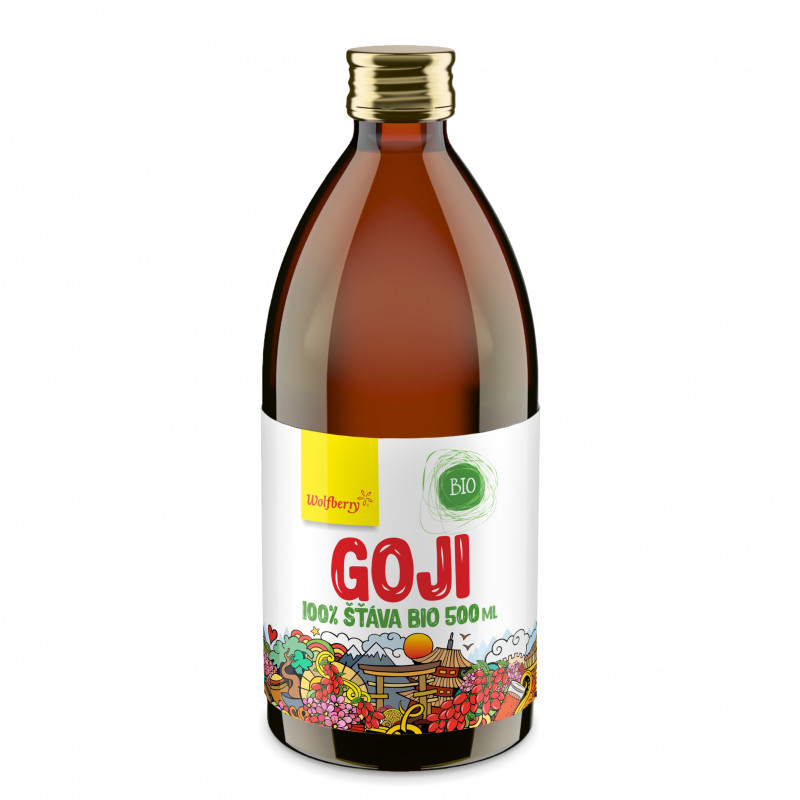 Wolfberry Goji šťáva 100% BIO 500 ml