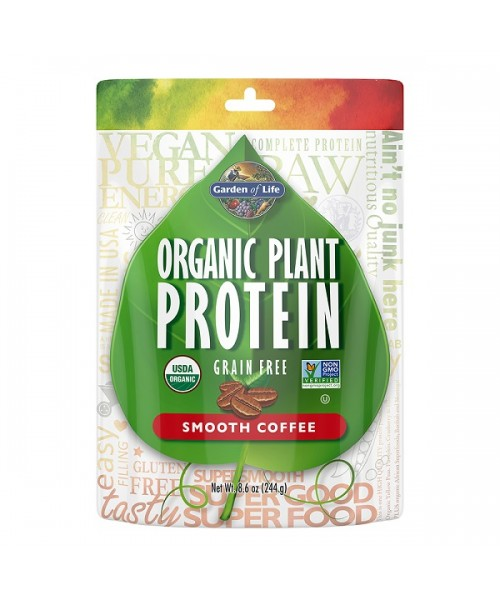 Garden of Life Organic Plant Protein Coffee 244g
