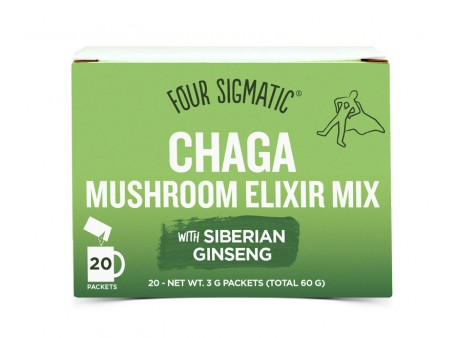 Four Sigmatic Food Chaga + Siberian Ginseng Mushroom Mix 20 sáčků