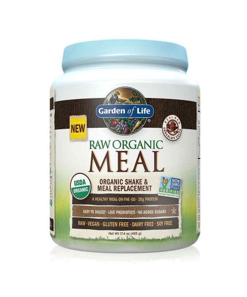 Garden of Life RAW Meal Čokoláda 493 g