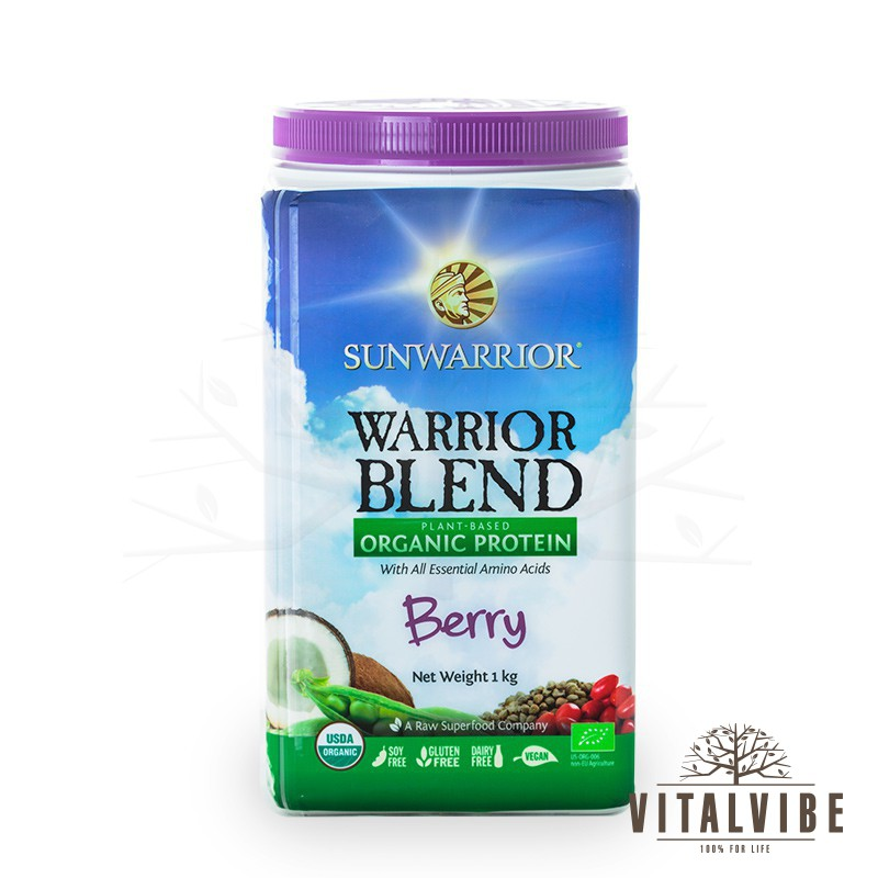 Sunwarrior Warrior Blend Berry BIO 1000g
