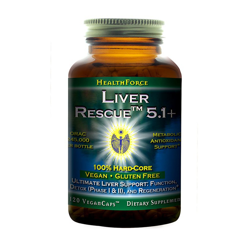 HealthForce LIVER RESCUE™ 120 kapslí
