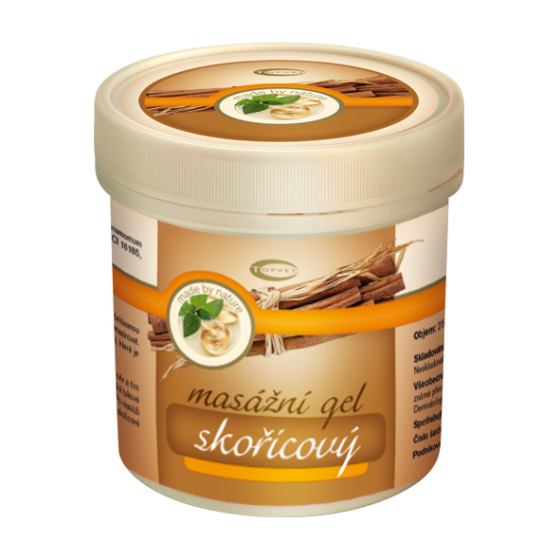 Topvet Skořicový gel 500 ml